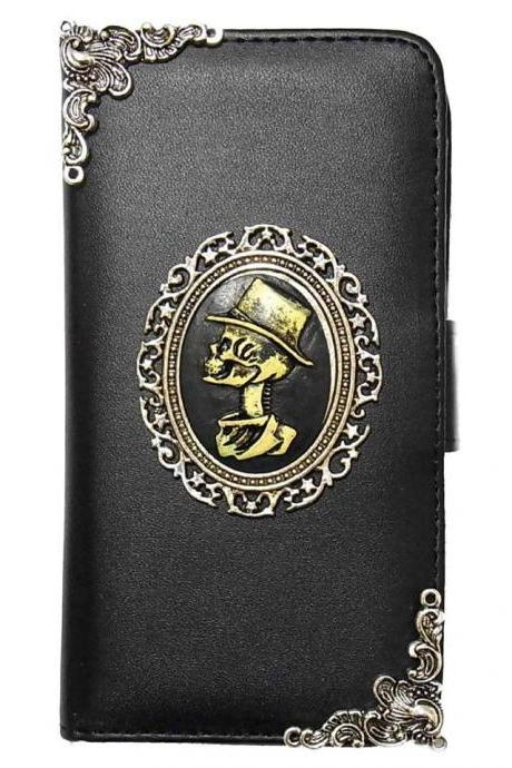Samsung Galaxy S8 wallet, Vintage Skull Samsung Galaxy S8 wallet leather case,Samsung Galaxy S8 Plus Wallet Leather Case, Vintage Skull Samsung Galaxy S8 Plus Wallet Pouch Leather Case Cover A3