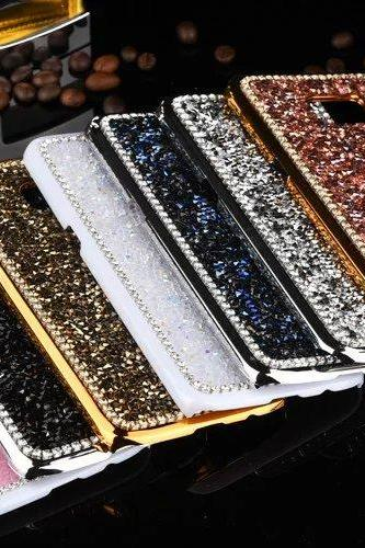 Luxury Bling Crystal Metal Samsung Galaxy S7 S8 Plus case,Bling Metal Samsung Galaxy S7 Edge S8 Plus case,Crystal Samsung Galaxy S7 S8 Plus Case Cover, Luxury Bling Crystal Samsung Galaxy S7 Edge S8 Plus case cover